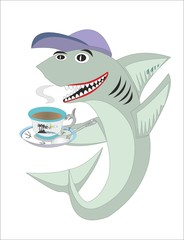 Shark predlogoyi tea or coffee