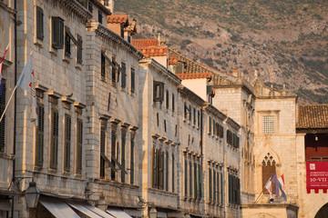 Buildings in Dubrovnik