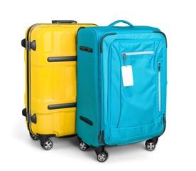 Set of luggage - isolated image
