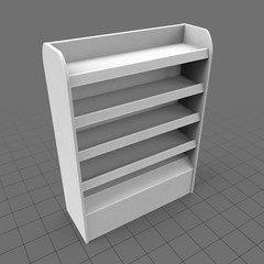 Point of sale shelves