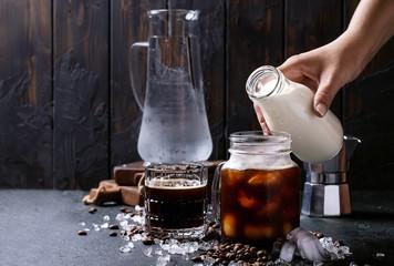Home made iced coffee