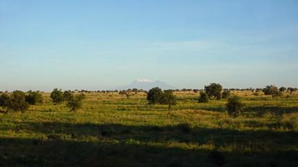 kilimanjaro and kenyan landscape