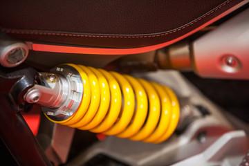 Motorcycle suspension detail