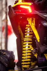 Vehicle suspension detail