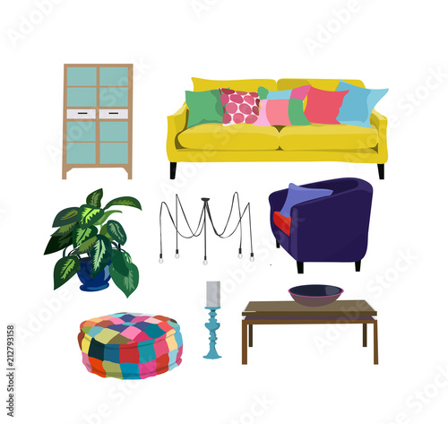 Living Room Realistic Furniture Set Collectionbeautiful Cute Gorgeous Beautiful Interior Home Designs Collection