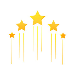flying stars icon
