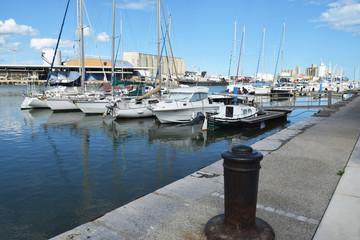 Le port de Port-la-Nouvelle, Aude, Languedoc, Occitanie.