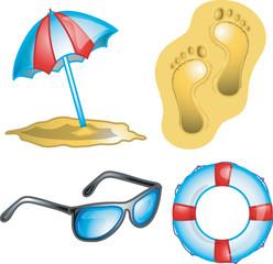 Beach vacation Icon 4
