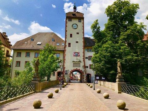 Unteres Tor (Basler Tor) in Waldshut (Baden-Württemberg)