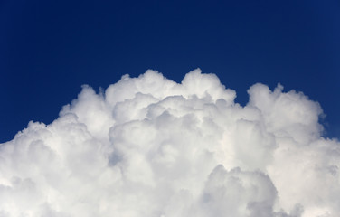 nice cloud in sky