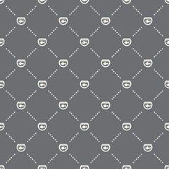 seamless aquarium pattern on a dark background. aquarium icon creative design