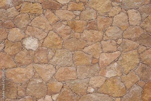 Wand Naturstein