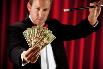 Magician: Going to Make Cash Disappear