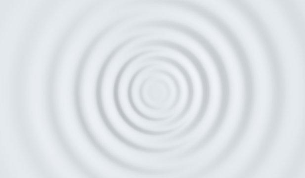 3d wave porcelain white background header