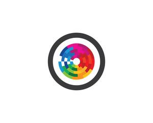Eye symbol illustration design