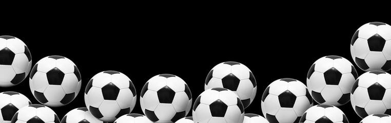 Fotoväggar - Ball auf dem Fussballplatz