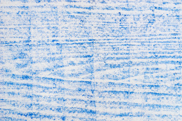 blue wood texture pattern crayon drawing on white background