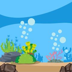 ocean background vector design