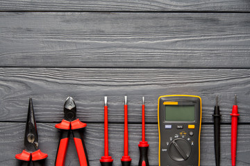 Professional tools for electric works
