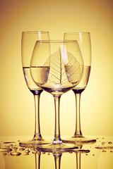 Set of glasses..