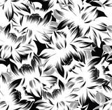 Eine ungewöhnliche Kombination von Weiß mit Schwarz