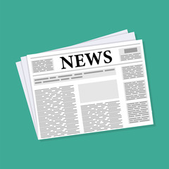 newspaper news icon