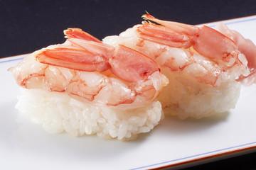 生海老の握り寿司 (raw shrimp)