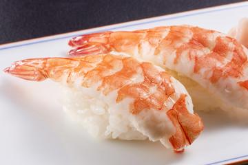 海老の握り寿司 (shrimp)
