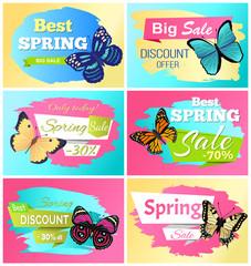 Best Spring Discount 30 Off Labels Butterflies