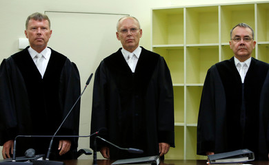 Verdict in the trial of suspected NSU neo-Nazi gang member Zschaepe in Munich