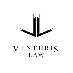 VL logo, monogram, vector