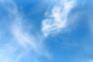 texture of the blue sky with clouds