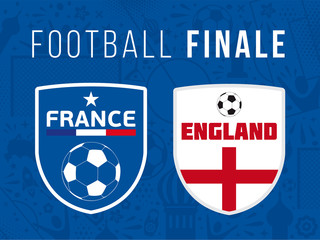 FOOTBALL FINALE France - Angleterre