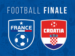 FOOTBALL FINALE France - Croatie