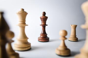 Symbolic chess concept