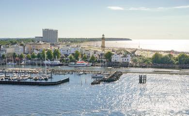 Warnemünde Strand und Hafen