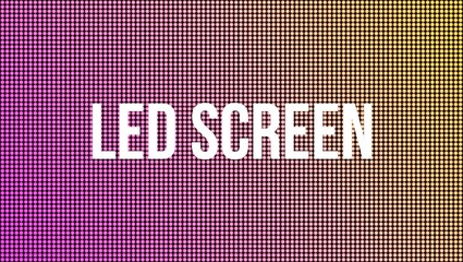Creative vector illustration of led screen macro texture isolated on transparent background. Art design rgb diode seamless pattern. Abstract concept graphic television projection display element.