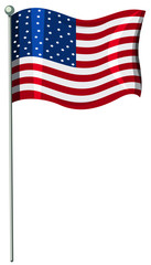 A United State of America Flag