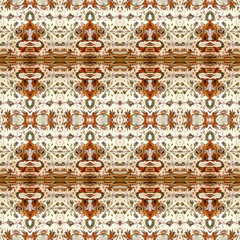 Collage Ornate Seamless Pattern Design