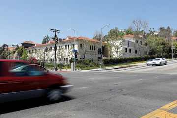 Immaculate Heart High School, where Meghan Markle attended as a student is seen in Los Angeles