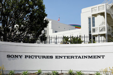 "Sony Pictures Studio where Meghan Markle's father worked as a lighting director for the television sitcom ""Married With Children"" is seen in Culver City"