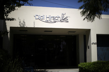 The Didi Hirsch Mental Services office is seen in Los Angeles