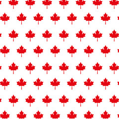 red maple leaf background decoration vector illustration