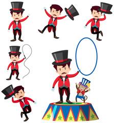 A Set of Magician Character