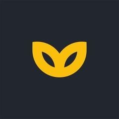 Simple logo icon