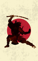 Ancient Japanese Warrior, Samurai