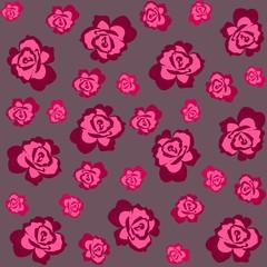 roses patern