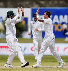 Cricket - Sri Lanka v South Africa - First Test Match - Galle, Sri Lanka
