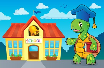 Turtle teacher theme image 3