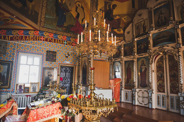 Beautiful decor of the Orthodox Church 1346.